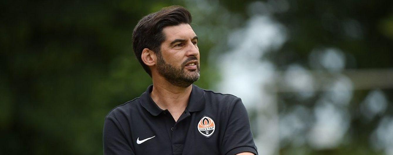 """Це винятково моя провина: тренер """"Шахтаря"""" про виліт з Ліги чемпіонів"""