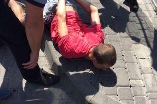 У Києві затримали поліцейського-хабарника