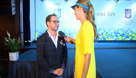 Андре Тан розповів про гардеробні примхи українських спортсменок