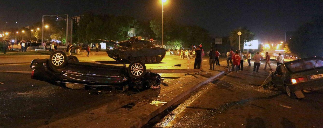 Кількість жертв у результаті путчу в Туреччині перевищила 260 осіб