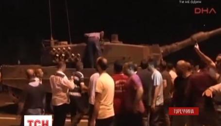 Хронология событий военного переворота в Турции