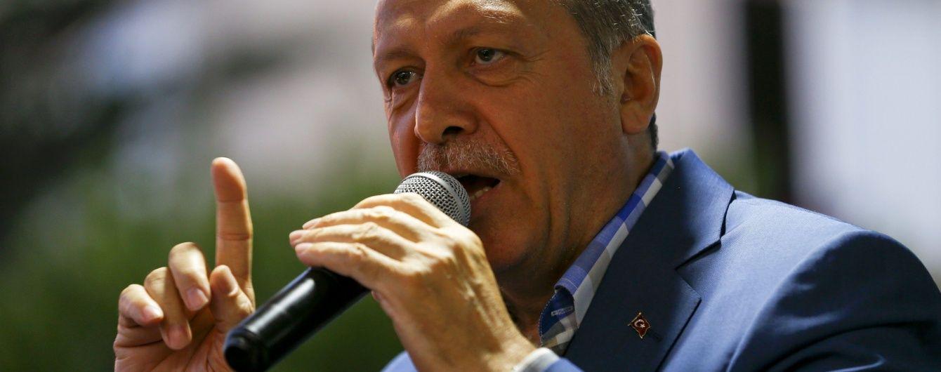 Повстанці планували вбити Ердогана на курорті - ЗМІ