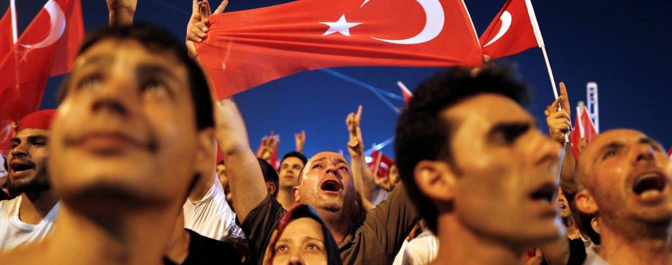 Після спроби путчу в Туреччині можуть повернути смертну кару