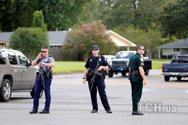 Унаслідок стрілянини у Луїзіані загинули троє поліцейських