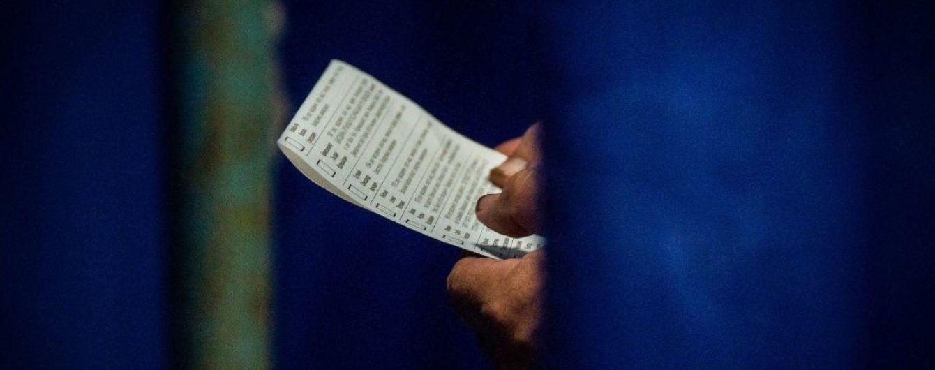 ЦВК опрацювала більше 30% протоколів. Проміжні результати виборів до ВР на семи округах