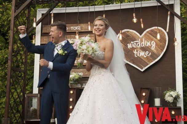У Мережі з'явилися фото з гучного весілля Дмитра Ступки