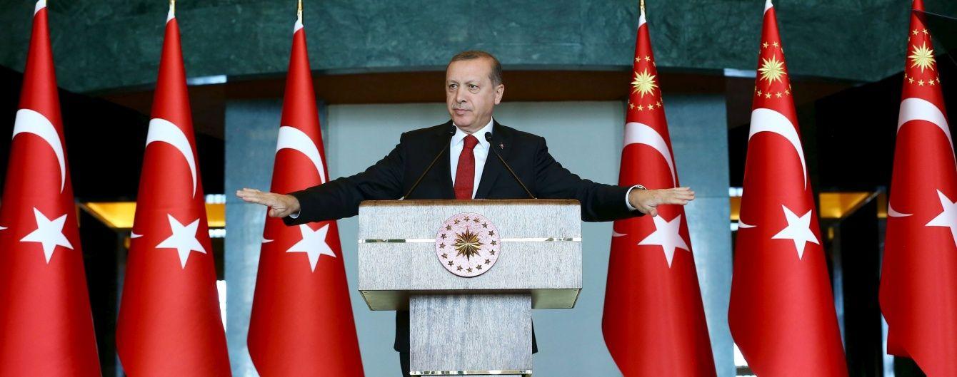 Ердоган фактично назвав Путіна окупантом Сирії