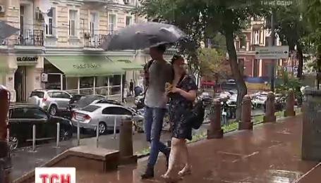 В Украине аномальную жару сменит дождь и град