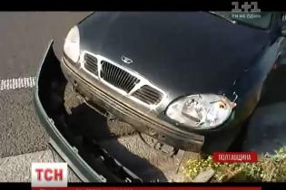 На Полтавщині Lanos збив 7-річну дитину