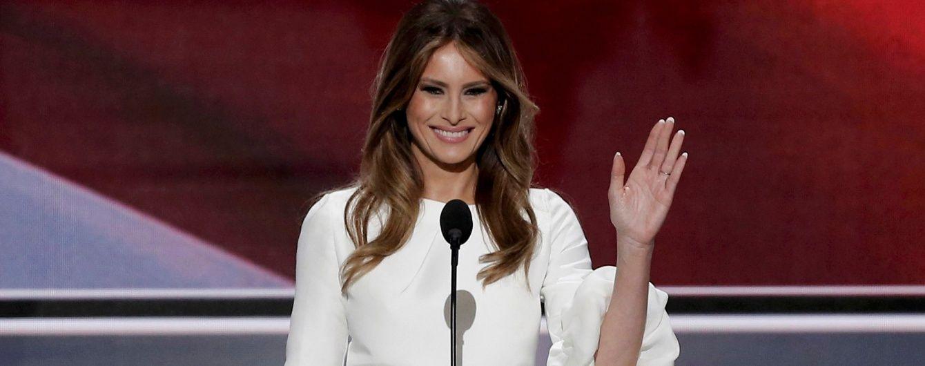 Красуню-дружину Трампа звинувачують у плагіаті промови Мішель Обами