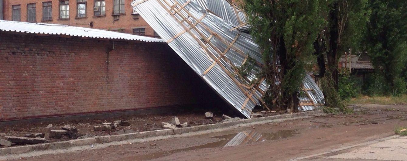 Гроза у Харкові вихлюпнула на місто місячну норму опадів
