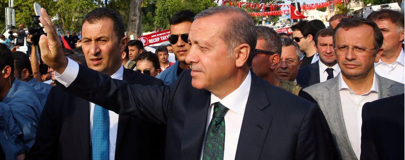 У ЄС закликали Ердогана не забувати про верховенство права і громадянські свободи