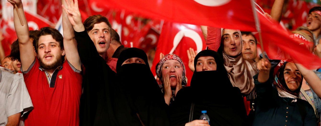 Туреччина призупиняє дію Європейської конвенції з прав людини