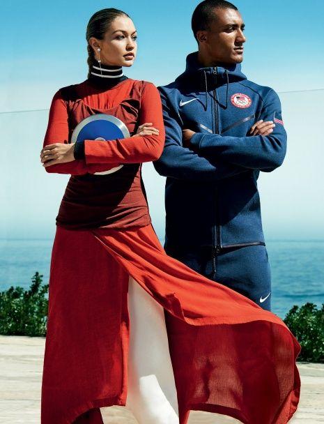 Американські олімпійці знялися у модній фотосесії для журналу Vogue