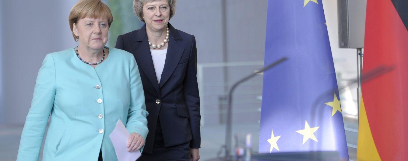 Меркель і Мей узгодили час виходу Британії з ЄС