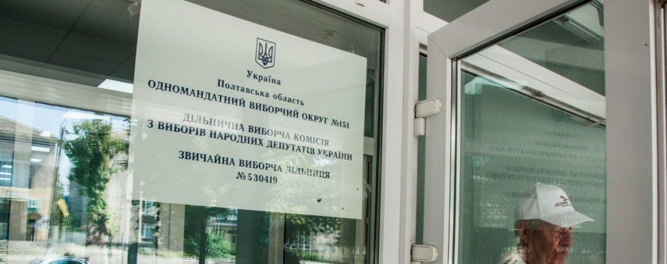 Довибори в Раду: Через скандали на Полтавщині досі не опрацьовано 100% протоколів