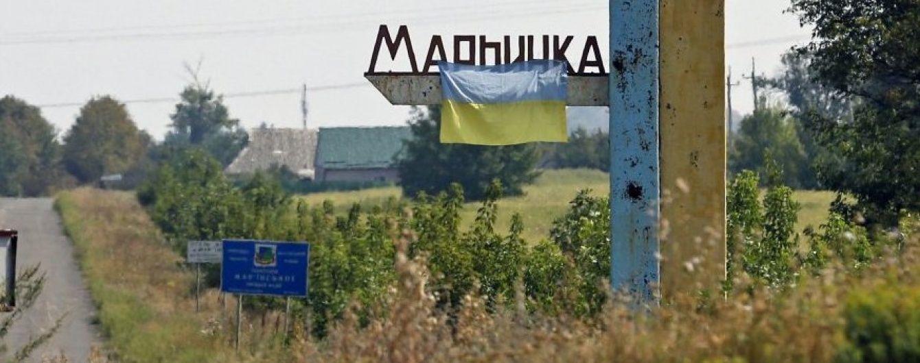 В Марьинке в результате взрыва снаряда женщина получила ранения лица