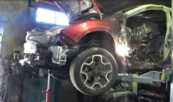 МВС показало фото з огляду авто, у якому загинув журналіст Шеремет