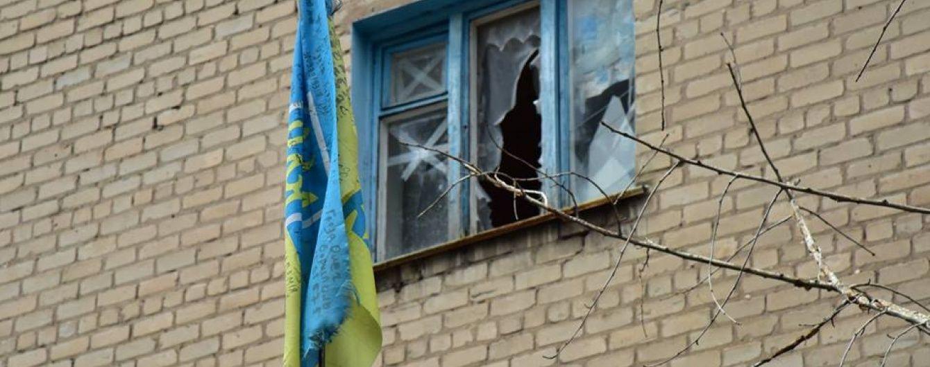 Бойовики вночі обстріляли житлові квартали Мар'їнки з гранатометів та кулеметів
