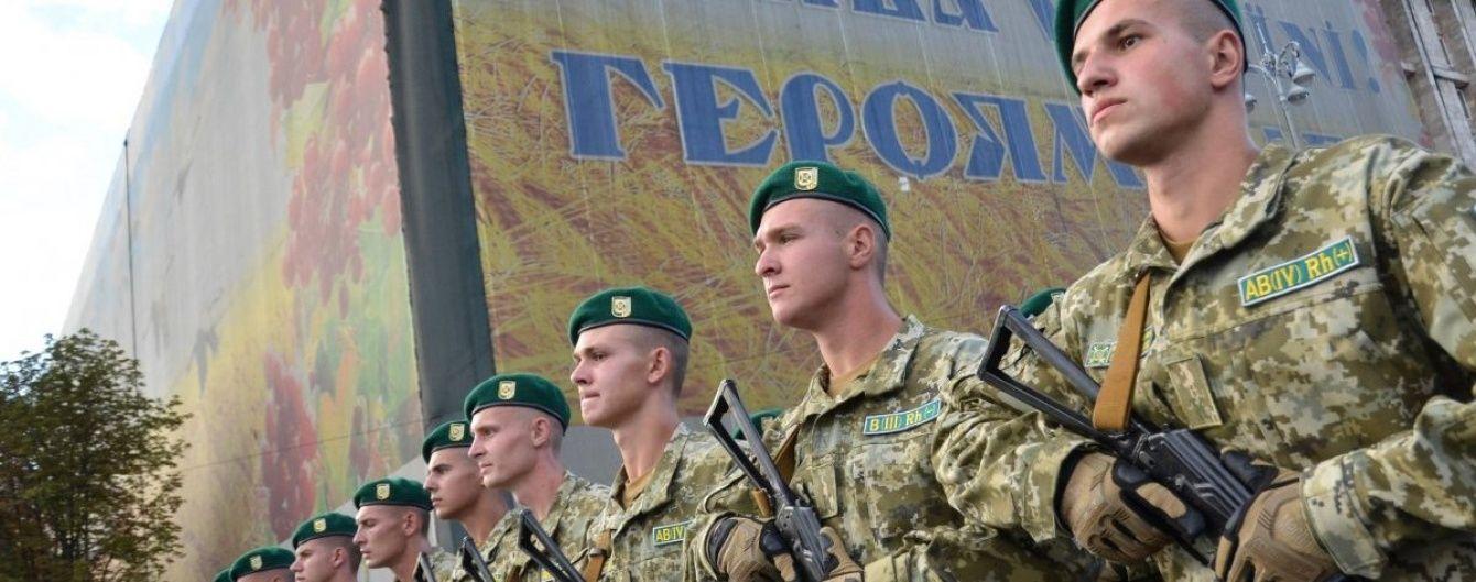 На 25-ту річницю Незалежності України в Києві відбудеться військовий парад