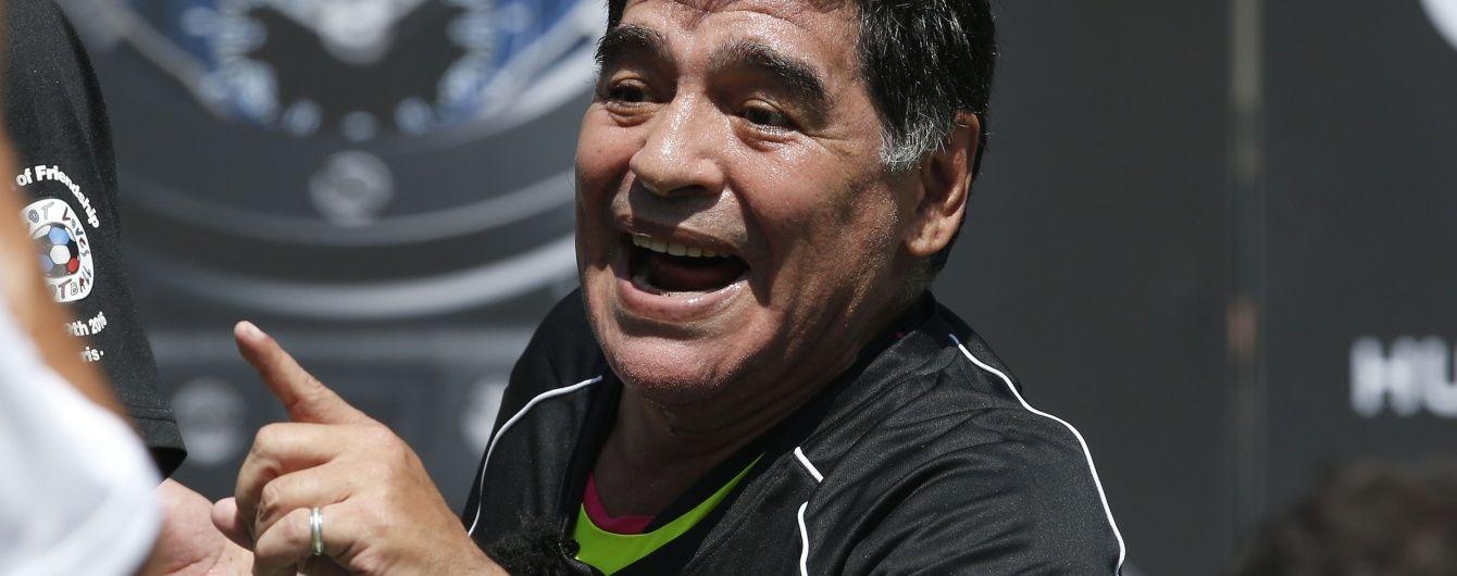 Марадона хоче повернутися до збірної Аргентини заради конфліктів із журналістами