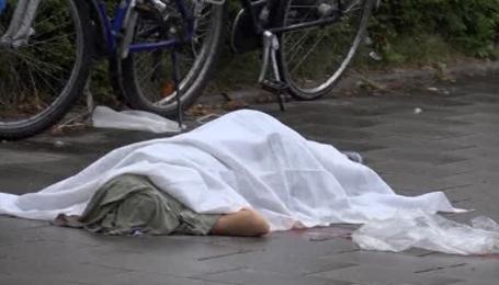 Видео с места стрельбы в Мюнхене