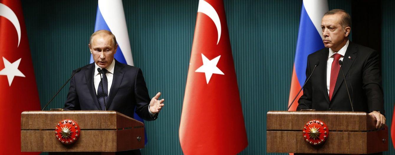 Ердоган прибуде в Санкт-Петербург з офіційним візитом у серпні