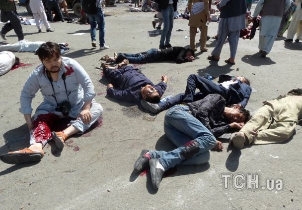 У Кабулі на демонстрації прогримів вибух, загинули десятки людей