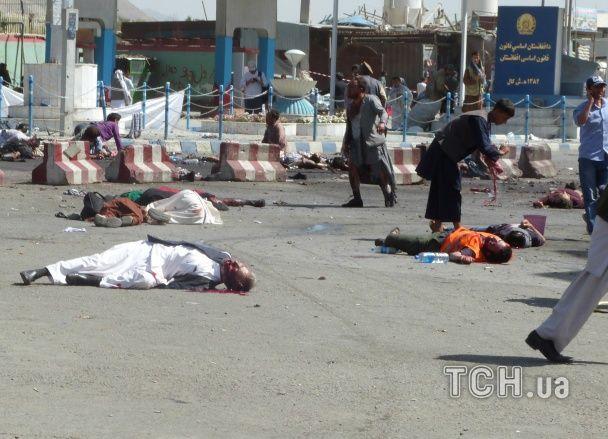 Кривава субота в Кабулі: вибух у натовпі обірвав 64 людських життя