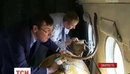 Визит Юрия Луценко на Закарпатье закончился угрозами и обысками