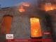 Масштабну пожежу на Львівщині гасили понад півсотні рятувальників