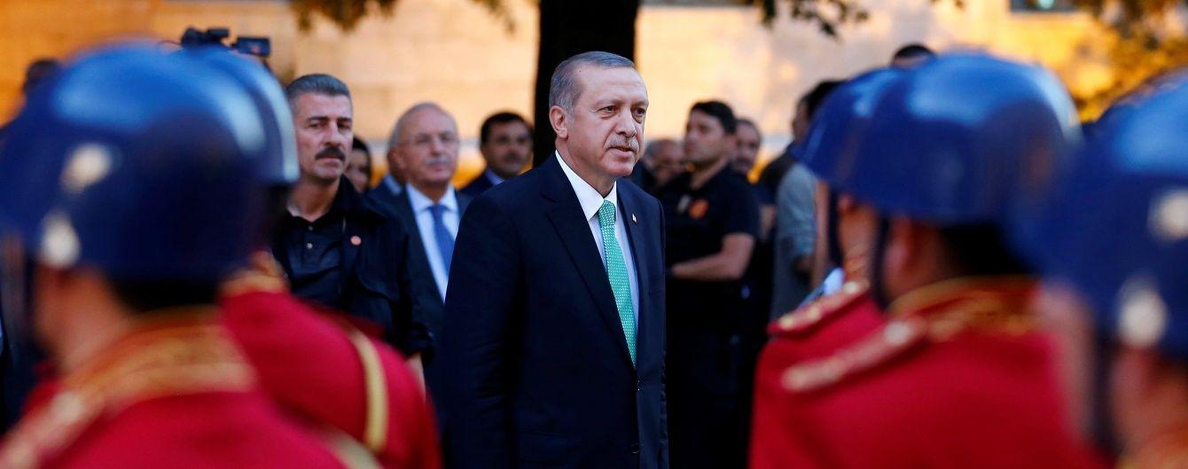 У Туреччині розформували елітну президентську охорону