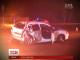 Вночі у Харкові нетверезі поліцейські влаштували перегони та розтрощили автівку