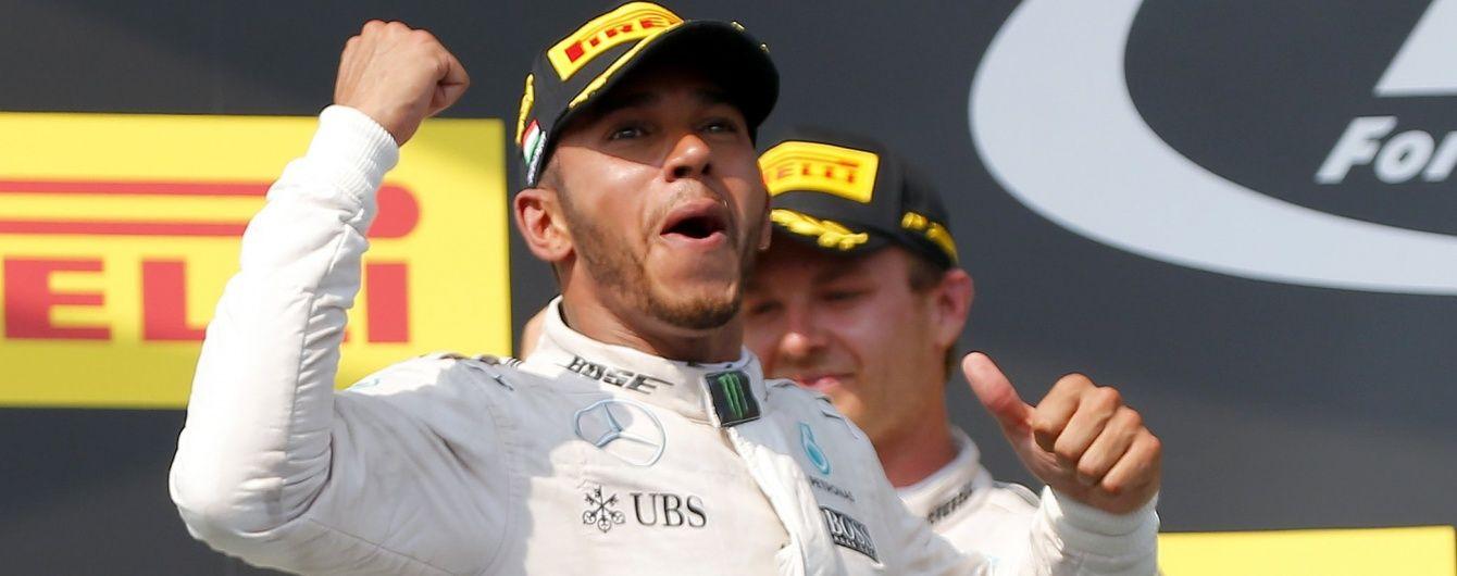 Хемілтон виграв Гран-прі Формули-1 в Угорщині