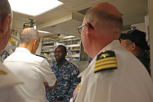 """Військові навчання """"Сі Бриз"""": як оснащений американський есмінець та що в ньому всередині"""
