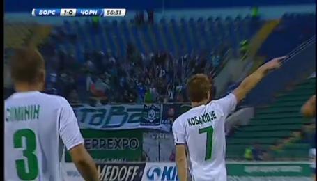 Ворскла - Чорноморець - 1:0. Відео-аналіз матчу