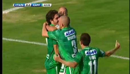 Сталь - Карпати - 0:3. Відео-аналіз матчу