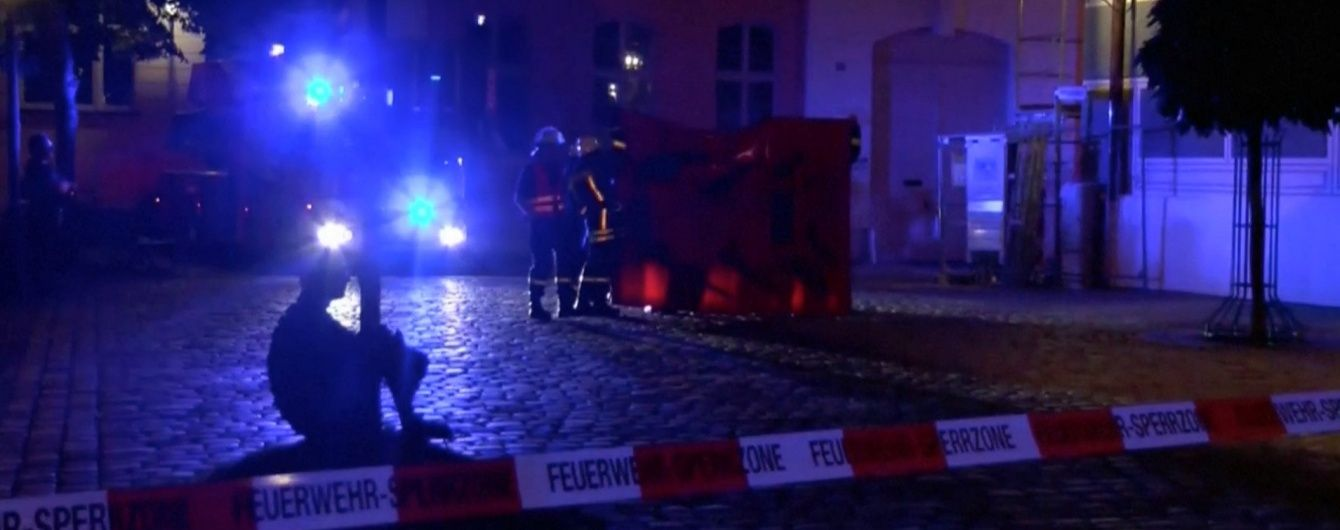 Кількість постраждалих від вибуху у Німеччині збільшилася до 14 осіб