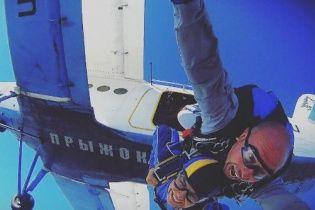 Настя Каменських показала відео фатального стрибка з парашутом, під час якого ледь не загинула
