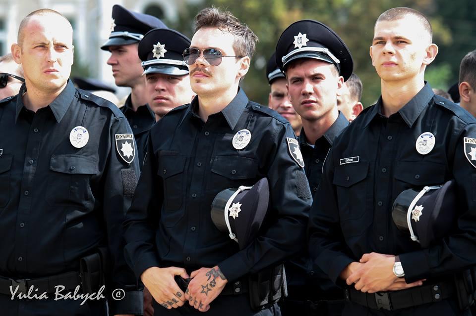 поліцейський, татуювання