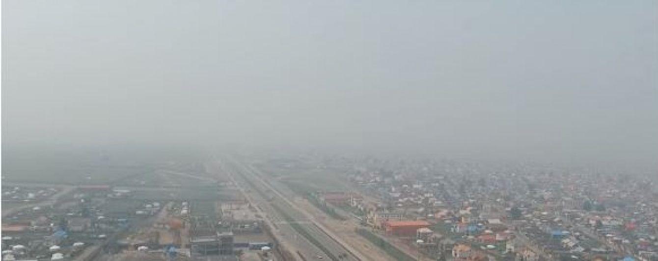 Від пожеж у Сибіру задихаються жителі Монголії