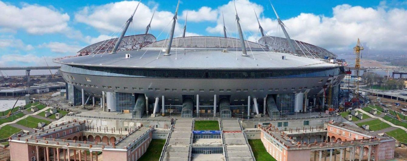 """""""Зеніт"""" призупинив будівництво свого нового стадіону"""