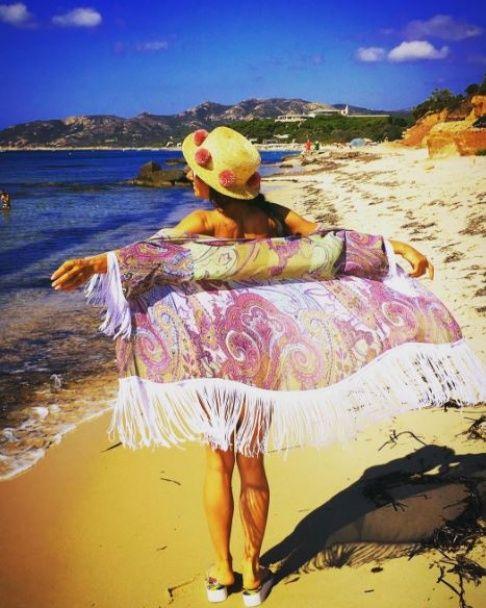 Струнка Злата Огнєвіч похизувалася ідеальною фігурою на пляжі