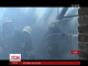 У центрі Львова масштабна пожежа охопила житловий будинок