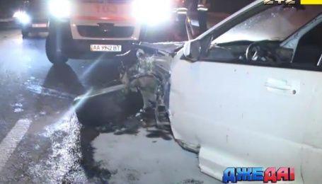 Догонялись: соревнования на Московском мосту закончились страшной аварией
