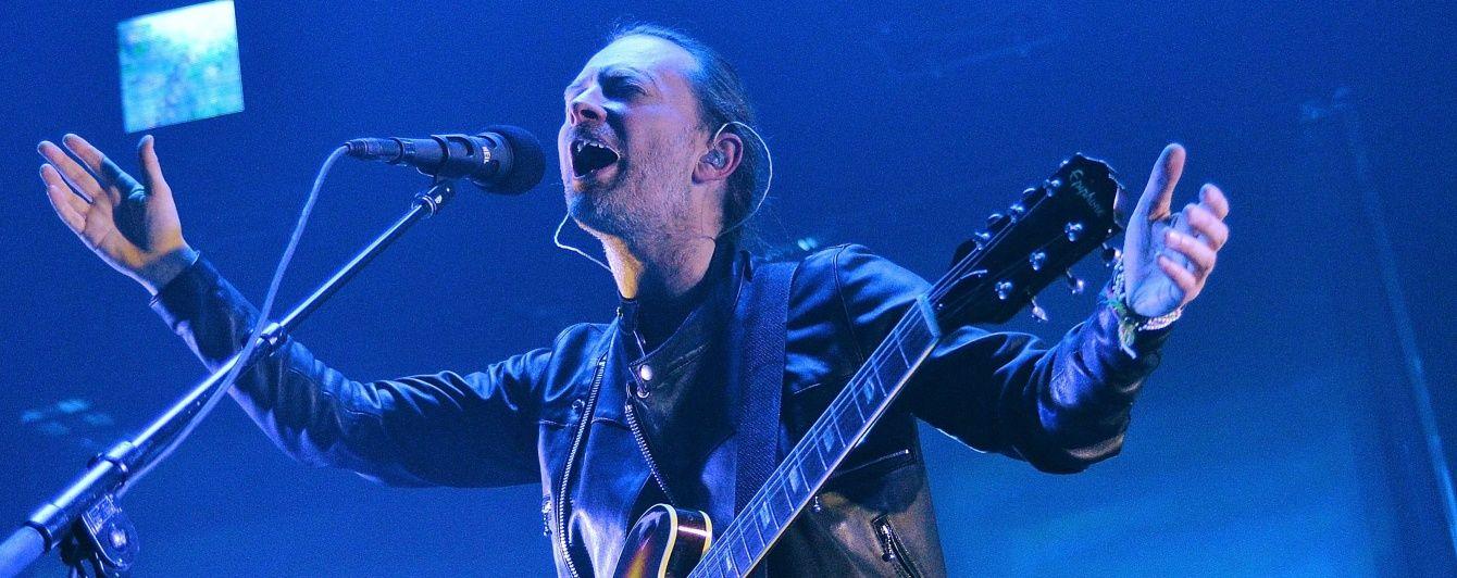 Релігійна організація розмістила фото соліста Radiohead на плакаті про сатану