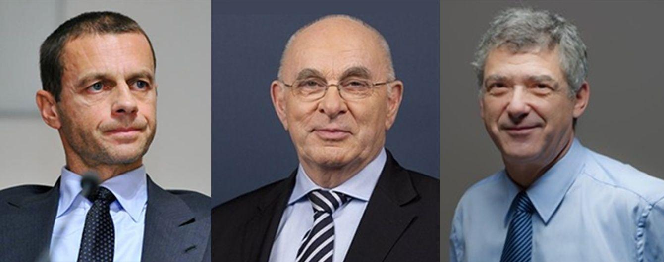 Кандидати на пост президента УЄФА - хто вони? Інфографіка до вересневих виборів
