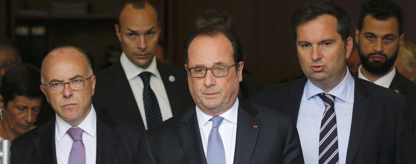 Олланд відмовився відкривати православну церкву з Путіним у Парижі через масові вбивства у Сирії