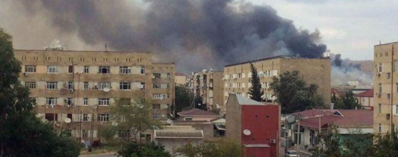 В Азербайджані через вибух на заводі з виготовлення боєприпасів загинули двоє людей