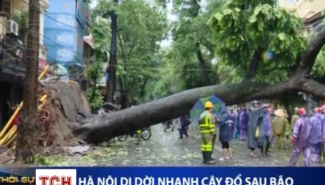 У В'єтнамі вирує потужний тайфун